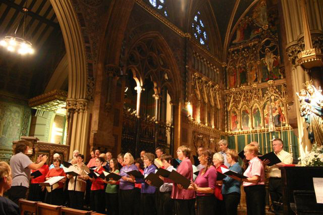 Valentine Singers in All saints Margaret Street